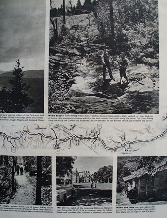 Blue Ridge Motor Holiday Article With Pictures 1946