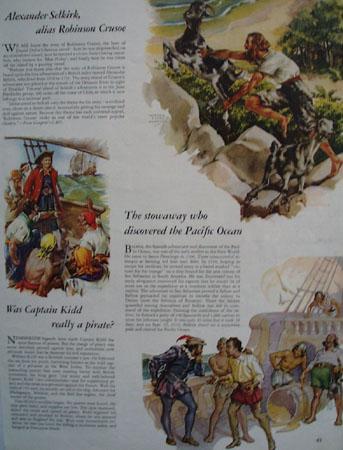 Alexander Selkirk Alias Robinson Crusoe Article 1946