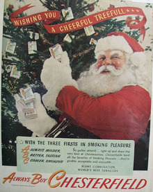 Chesterfield Cigarettes Always Buy Chesterfield 1945 Ad