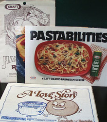 5 Kraft Advertising Cookbooklets 20th Century