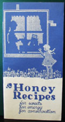 Honey Recipes Cookbook 1942