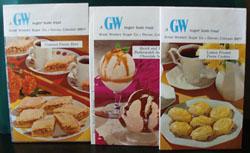 3 Cookbooks By GW Sugar 20th Century