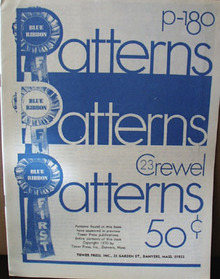 Blue Ribbon Patterns Crewel Magazine 1970