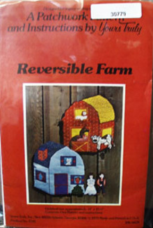Reversible Farm by Patchwork Pattern 1979