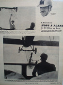 Dare Devil Hops A Plane Article 1938 Ad