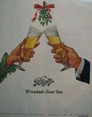 Blatz Beer Christmas 1951 Ad