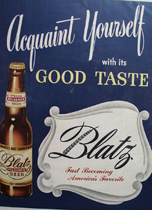 Blatz Beer Acquaint yourself 1946 Ad
