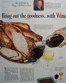 Wine Advisory Board Duncan Hines 1945 Ad