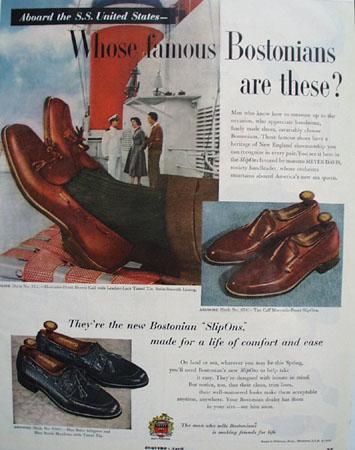 Bostonians Shoes Maestro Meyer Davis 1953 Ad