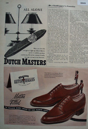 British Walkers for Men and Women Shoes 1948 Ad
