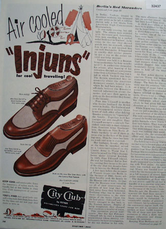 City Club Air Cooled Injuns 1951 Ad