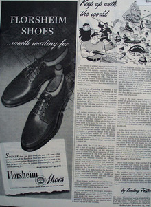 Florsheim Shoes Worth Waiting For 1945 Ad