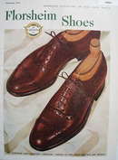 Florsheim Shoes Fine Shoe Value 1947 Ad