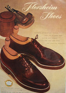 Florsheim Shoes Campus Style 1948 Ad
