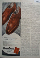 Matrix Shoes by Heywood 1948 Ad