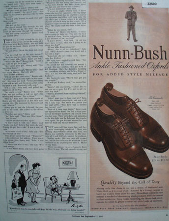 Nunn Bush Shoes Call of Duty 1945 Ad