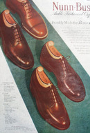 Nunn Bush Shoes Frankly Made 1948 Ad