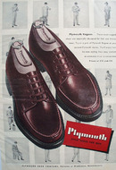 Plymouth Shoes Rogues 1947 Ad
