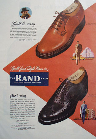 Rand Shoe Youll Be Seeing 1948 Ad