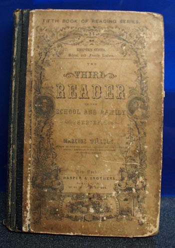 Third Reader 1860, Harpers series by Willson