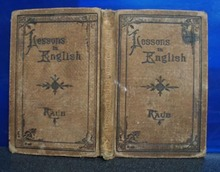 Lessons in English by Albert N Raub, Philadelphia