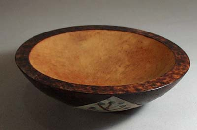 Wood Burned small bowl