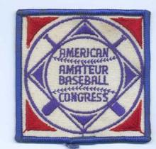 American Amateur Baseball Congress patch