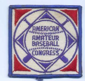 American Amateur Baseball Congress patch