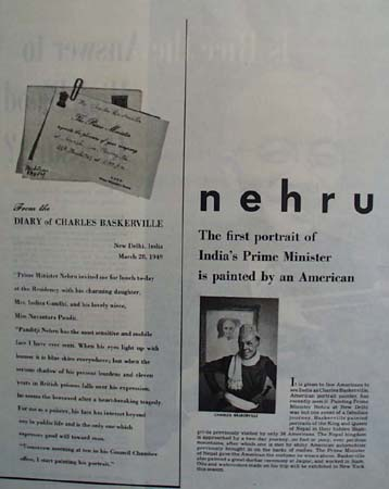 Nehru Prime Minister India Picture 1949