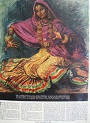 Lilavati A Dancer From India Article and Picture 1944