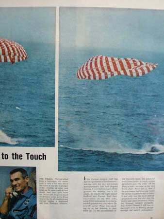 Flight of Gemini 9 Pictures and Article 1966