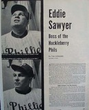 Eddie Sawyer Philadelphia Phillies Article 1951
