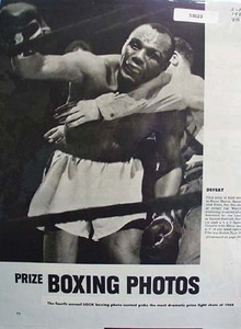 Prize Boxing Photos 1949