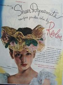 Revlon Sheer Dynamite Face Powder Ad 1945
