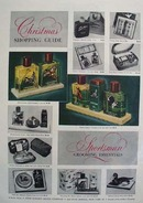 Sportsman Grooming Aids Christmas Ad 1953