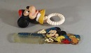 Mickey Mouse comb and teething ring