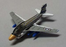 Metal realistic airplane EA 6A Intruder