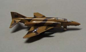 Metal realistic airplane F4C Phantom