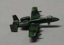 Metal realistic airplane A10A Fairchild Republic