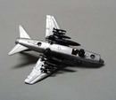 Metal realistic airplane Cosair II