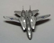 Plastic Realistic looking Navy 902 airplane