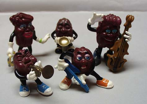 California Raisens Figurines 1988 by Applause