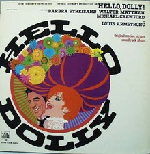 Hello Dolly Soundtrack record Album