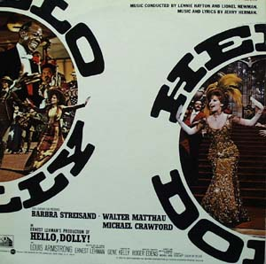 Hello Dolly Soundtrack record Album