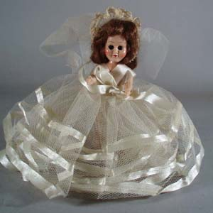 Story book doll, this is a open and close eye plastic doll
