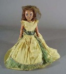 1940s Story book doll, this is a hand painted face plastic doll