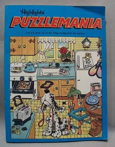 1990 Puzzlemania Highlights Book