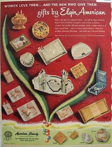 Elgin American Gifts 1950 Ad