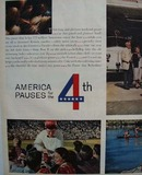 Coca Cola America Pauses for The 4th 1959 Ad