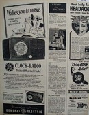 General Electric Radio Most Useful Radio 1950 ad